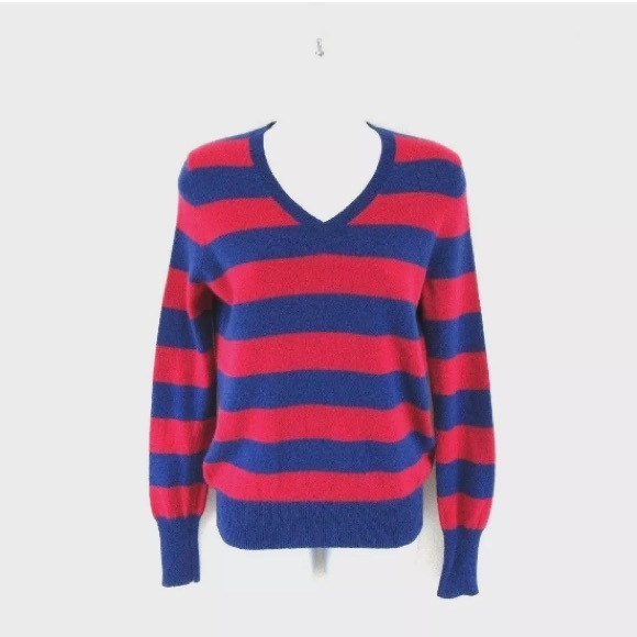 Only Mine Sweaters - Only Mine 100% Cashmere V Neck Sweater